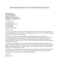 Executive Assistant Cover Letter Examples Office Assistant Cover Letter Samples Free Entry Level