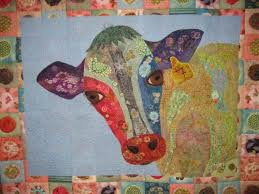 Thread painted Cow collage | A Little Craft & cow-collage-thread-painted-004 ... Adamdwight.com