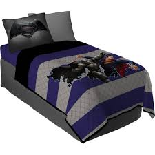 superman bedding sets com batman vs battle armor twinfull
