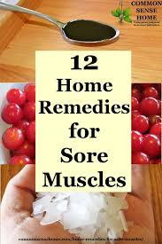 after workout muscle pain relief