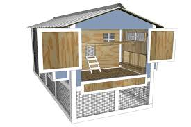 Small Picture Simple Poultry House Design With Chicken House Design Nz 6077