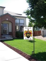 garden flags. Coat Of Arms / Family Crest Garden Flags