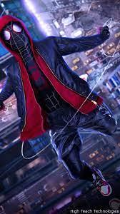 Spiderman Into The Spider Verse Live ...