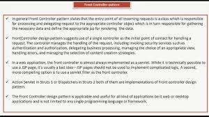 Front Controller Design Pattern In Java Java Ee Front Controller Design Pattern Key Points