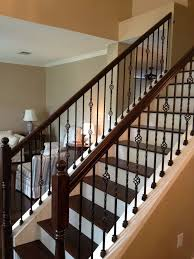 Amazing Black Wrought Iron Stair Railing 26 For Home Design Ideas with  Black Wrought Iron Stair Railing