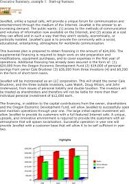 Executive Summary Example Template Free Download Speedy Template