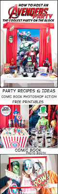 Avengers Party Decorations Marvel The Avengers Age Of Ultron Party Ideas