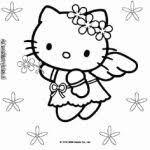 Kleurplaat Hello Kitty Zeemeermin Kleurplaatsite