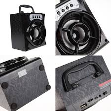 portable outdoor speakers. bluetooth speaker super bass portable wireless speakers outdoor with usb/tf/aux/fm radio card powerful 1