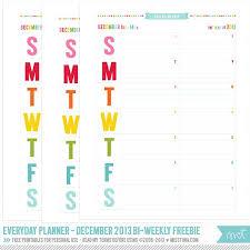 Vertical Weekly Calendar 2014 Everyday Planner Create Weekly Calendar Printables