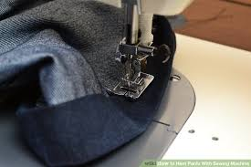 How To Sew Pants With A Sewing Machine