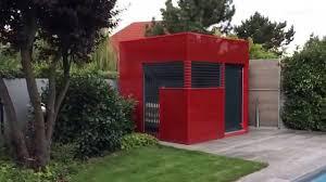 Gartenhaus Glas Cube Gardomo Youtube