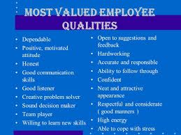 chapter build trust as you communicate listening skills  most valued employee qualities dependable positive motivated attitude honest good communication skills good listener creative