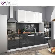 Vicco Küche S Line Küchenzeile Küchenblock Einb Real