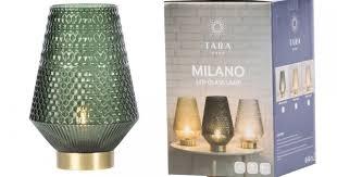 Milano battery <b>led lamp</b> emerald green 30cm