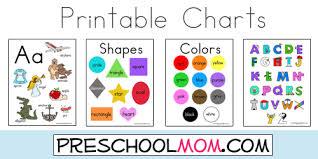 Shapes Chart For Nursery Preschool Resources Preschool Printables Classroom Charts