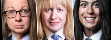 Beatrice Johnson, Michelle Gove and Janet Rees-Mogg - cabinet ministers as  you've never seen them before | Hot Lifestyle News