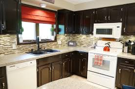 Kitchen Staining Wood Cabinets General Finishes Gel Stain Home