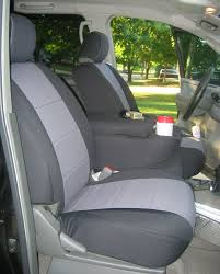 installed coverking neoprene seat covers frontpassafter1 jpg