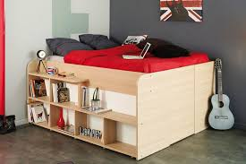 small space storage solution this bed has plenty of storage space built into the design