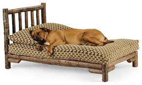 image of large outdoor pet dog lounge chair
