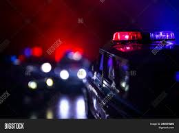 Free Police Lights Police Car Chasing Car Image Photo Free Trial Bigstock