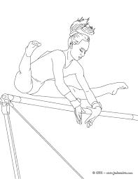 Dessin De Gymnaste A Imprimer