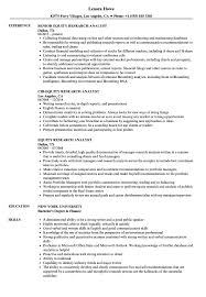 Equity Research Analyst Resume Equity Research Analyst Resume Samples Velvet Jobs 1