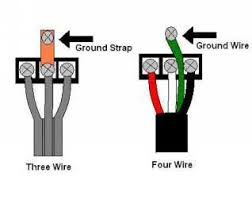 electric dryer cord replacement video installing four wire range cords