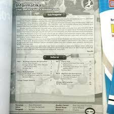 Kumpulan soal ujian sekolah smp kelas ix tahun 2012. Jual Buku Smp Kelas 3 Lks Informatika Tik Kelas 9 Semester 1 2019 2020 Jakarta Selatan Gawatiastuti Tokopedia
