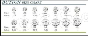Button Size Chart 2h Button From China Manufacturer Newcentury International