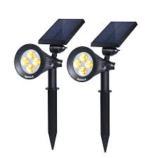 Led Solar Garden Spot Lights 7 Top 10 Best Waterproof Led Solar Lights In 2017 Top 10