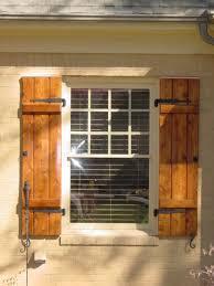 Cedar Shutters Exterior  Love The Hardware Barn - Shutters window exterior