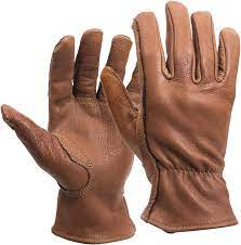 American Made Buffalo Leather Work Gloves, 650, Size: Large - Work Gloves -  Amazon.com