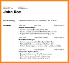 Types Of Resume Formats 3 Different Resumes Impression Visualize