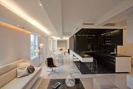 kitchen mood lighting. Contemporary Apartment With Led Mood Lighting Home Design For Extraordinary Dining Room Trends Kitchen