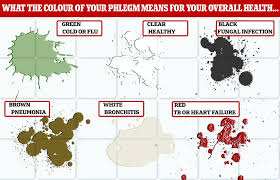 My Wake Health Chart Login Phlegm Colour Chart What Your Mucus Says About Your Health