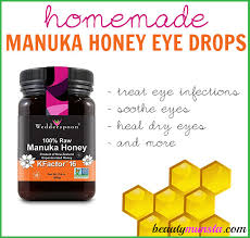 not long ago i shared a recipe for a diy eye spray using raw honey