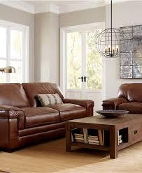 Macys Living Room Furniture Myars Leather Sofa Collection Furniture Macys Study Bar