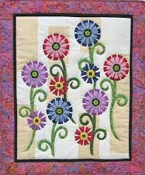 148 best crafts images on Pinterest | Sconces, Arch and European robin & Fanciful Flowers Quilt Pattern. Free Applique ... Adamdwight.com
