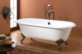 bear claw bathtub cheviot regal double ended cast iron white tub w feet bear claw foot bear claw bathtub