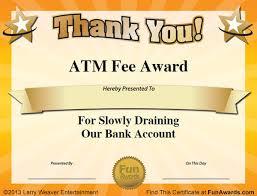 Office Award Free Funny Award Certificates Templates Sample Funny Office Awards