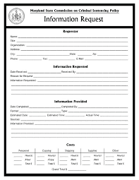 Information Request Form Template Flybymedia Co