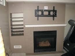 tv above fireplace wires mounting flat screen above fireplace hiding wires ideas in hanging install tv