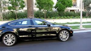 audi a7 blacked out. 96 2012 audi a7 black nougat brown 2480 miles sold in beverly hills youtube blacked out