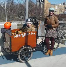 Family Biking: Iva & Brian — Four Star Family Cyclery