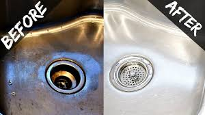 how to clean your kitchen sink disposal naturally with baking soda vinegar easy organic you
