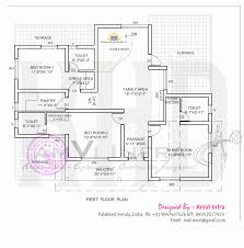 Small 5 Bedroom House Plans Elegant Bedroom House Elevation With Floor Plan Indian House Plans