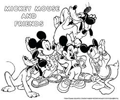 Mickey Mouse Clubhouse Printable Coloring Pages For Sheet Cake