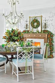 Silver and Magnolia Dining Room